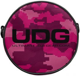 UDG Headphone Bag Digital Camo Pink