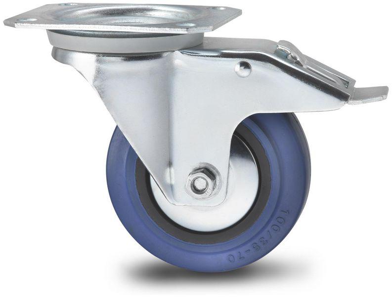 Kast Op Wieltjes : Oem zwenkwiel met rem 100mm zwenkwiel met rem van nederlandse
