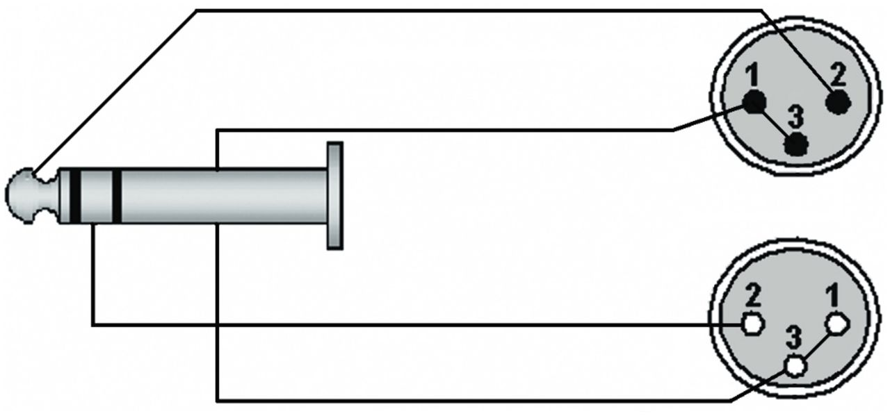 Procab Cla709  1 Verloopkabel  1 X 6 3mm Trs Jack Xlr