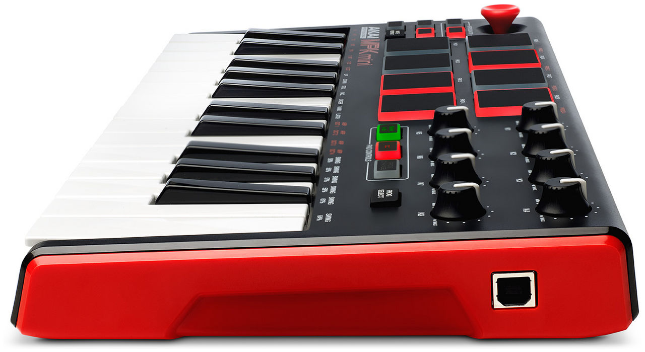 akai mpk mini mk2 compact keyboard en pad controller new line. Black Bedroom Furniture Sets. Home Design Ideas